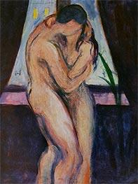 The Kiss, c.1896/97 by Edvard Munch | Giclée Canvas Print