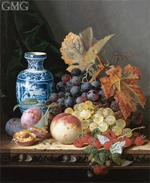 Edward Ladell | Still Life with a Chinese Vase, undated | Giclée Canvas Print