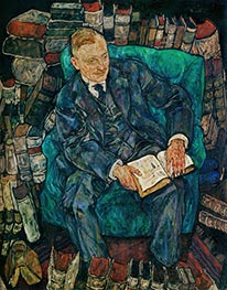 Dr. Hugo Koller, 1918 by Schiele | Giclée Canvas Print