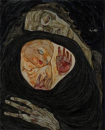 Schiele | Dead Mother I | Giclée Canvas Print