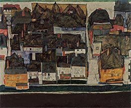 Schiele | The Small City IV | Giclée Paper Print