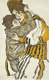Schiele | Schiele's Wife with Her Little Nephew, 1915 | Giclée Paper Print
