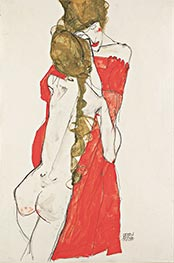 Mother and Daughter, 1913 by Schiele | Giclée Paper Print