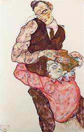 Schiele | Lovers | Giclée Paper Print