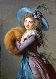 Elisabeth-Louise Vigee Le Brun | Madame Mole-Raymond, 1786 | Giclée Canvas Print