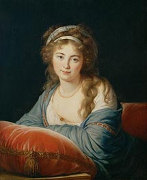 Elisabeth-Louise Vigee Le Brun | The Countess Catherine Vassilievna Skavronskaia, 1796 | Giclée Canvas Print