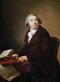 Elisabeth-Louise Vigee Le Brun | Portrait of Giovanni Paisiello, a.1791 | Giclée Canvas Print
