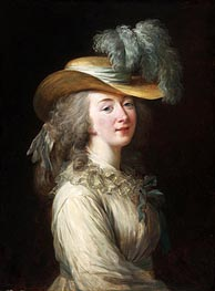 Elisabeth-Louise Vigee Le Brun | Portrait of Madame Du Barry, 1781 | Giclée Canvas Print