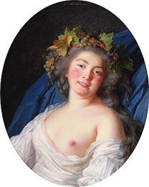 Elisabeth-Louise Vigee Le Brun | Bacchante, 1785 | Giclée Canvas Print
