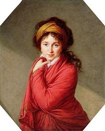 Elisabeth-Louise Vigee Le Brun | Portrait of Countess Varvara Nikolaevna Golovine, nee Galitzine, c.1797/00 | Giclée Canvas Print