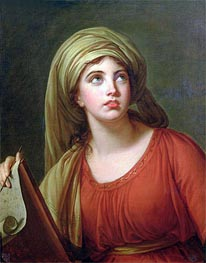 Elisabeth-Louise Vigee Le Brun | Portrait of Emma Hart, later Lady Hamilton, as a Sibyl, c.1792 | Giclée Canvas Print