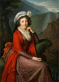 Portrait of Countess Maria Theresia Bucquoi, 1793 by Elisabeth-Louise Vigee Le Brun | Giclée Canvas Print