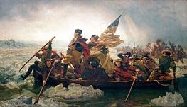 Leutze | Washington Crossing the Delaware, 1851 | Giclée Canvas Print