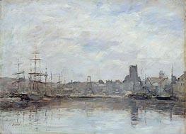 Eugene Boudin | September Morning: Port of Fecamp | Giclée Canvas Print