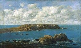 Eugene Boudin | Camaret, Le Toulinguet, c.1871/73 | Giclée Canvas Print