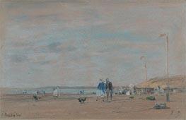 Eugene Boudin | Beach Scene, 1864 | Giclée Paper Print
