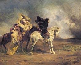 Eugene Fromentin | Le Simoon, c.1864 | Giclée Canvas Print