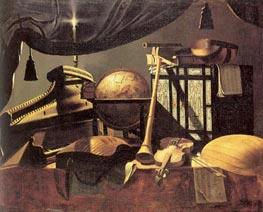 Baschenis   Still-life with Musical Instruments, undated   Giclée Canvas Print