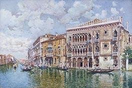 Federico del Campo | Ca' d'Oro, Venice, undated | Giclée Paper Print