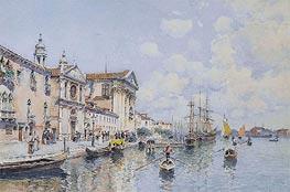 Federico del Campo | Santa Maria del Rosario and Santa Maria della Visitazione, Venice, undated | Giclée Paper Print