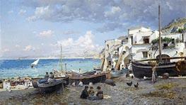 Federico del Campo | Capri, 1886 | Giclée Canvas Print