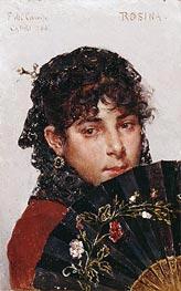 Federico del Campo | Rosina, 1887 | Giclée Canvas Print