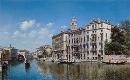 Federico del Campo | Palazzo Cavalli-Franchetti, Venice, 1890 | Giclée Canvas Print