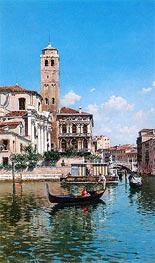 Federico del Campo | The Palazzo Labia, Venice, 1877 | Giclée Canvas Print
