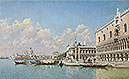 del Campo - View towards the Doge's Palace and Santa Maria della Salute - Art Print / Posters