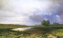 Feodor Vasilyev | Wet Meadow, 1872 | Giclée Canvas Print