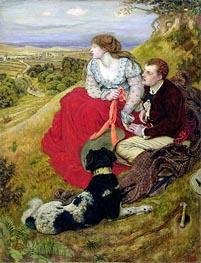 Ford Madox Brown | Byron's Dream, 1874 | Giclée Canvas Print