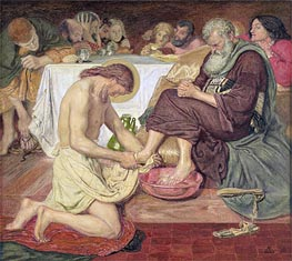 Ford Madox Brown | Jesus Washing Peter's Feet | Giclée Canvas Print