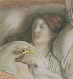 Ford Madox Brown | Convalescent (Emma), 1872 | Giclée Paper Print