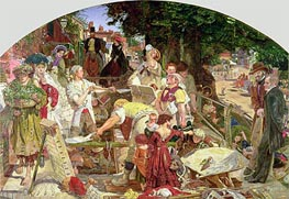 Ford Madox Brown | Work, 1863 | Giclée Canvas Print