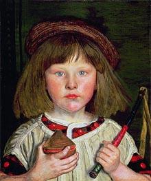 Ford Madox Brown | The English Boy, 1860 | Giclée Canvas Print