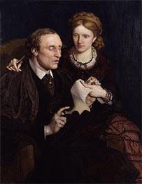 Ford Madox Brown | Henry Fawcett, Dame Millicent Garrett Fawcett, 1872 | Giclée Canvas Print