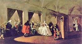 Francesco Guardi | The Parlour of the San Zaccaria Convent | Giclée Canvas Print
