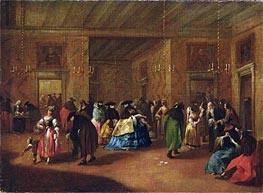 Francesco Guardi | The Foyer | Giclée Canvas Print