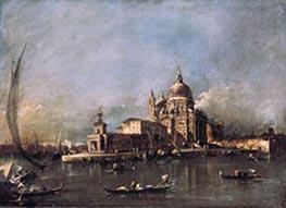 Francesco Guardi   Santa Maria della Salute   Giclée Canvas Print