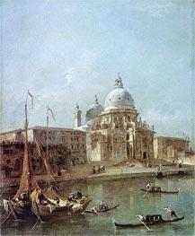 Francesco Guardi | Santa Maria della Salute, undated | Giclée Canvas Print