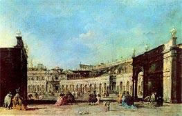 Francesco Guardi | Piazza San Marco, c.1776/77 | Giclée Canvas Print