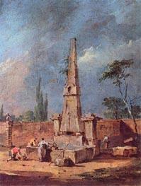 Francesco Guardi | Capriccio, undated | Giclée Canvas Print