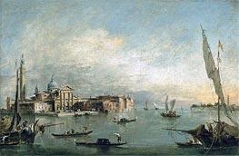 Francesco Guardi | A View of the Bacino di San Marco with San Giorgio Maggiore and the Punta della Giudecca, c.1785 | Giclée Canvas Print