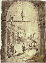 Francesco Guardi | Venetian Scene, undated | Giclée Paper Print
