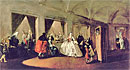 Guardi - The Parlour of the San Zaccaria Convent - Art Print / Posters