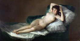 The Nude Maja, c.1797/00 by Goya | Giclée Canvas Print