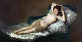 Goya | The Nude Maja, c.1797/00 | Giclée Canvas Print