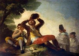 Goya | The Drinker, 1777 | Giclée Canvas Print