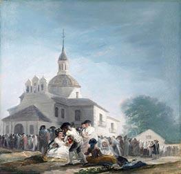 Goya   The Hermitage of Saint Isidore on the Saint's Feast Day, 1788   Giclée Canvas Print