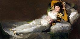 Goya | The Clothed Maja, c.1800/08 | Giclée Canvas Print